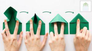 Как сделать прыгающую лягушку оригами из бумаги
