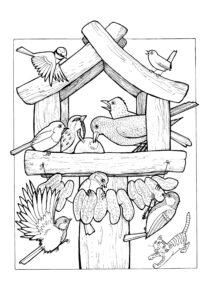 Раскраски Животные распечатать