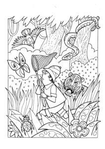 ловец бабочек