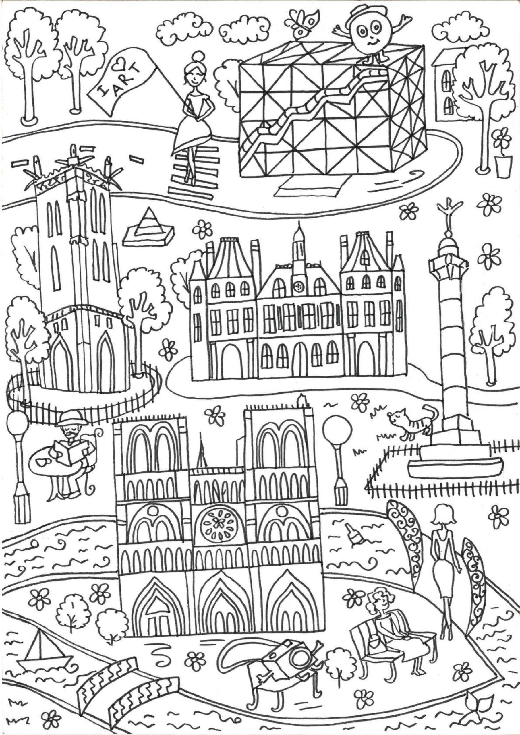 живете раскраска памятники архитектуры создать оригинальный