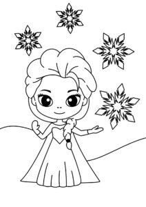 Распечатать бесплатно раскраски для девочек в формате А4