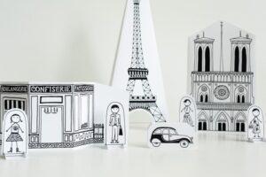 Распечатать бумажный город. Бесплатные шаблоны