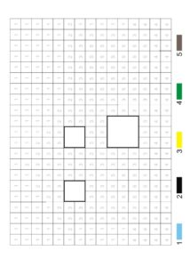 Распечатать раскраски по номерам цвета