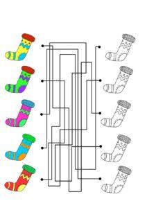 распечатать задания - лабиринты на внимание для детей