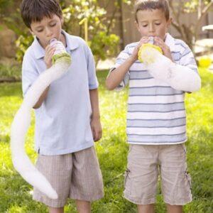 Как сделать мыльные пузыри еще веселее - мыльные змеи