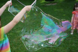 палочка для выдувания гигантских мыльных пузырей
