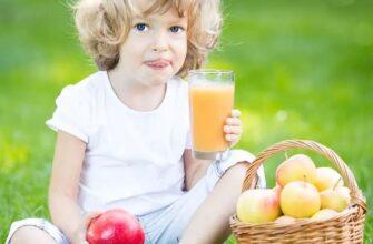 рецепты соков для детей