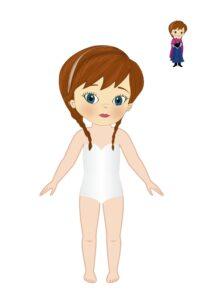 шаблон для рисования пластилин платья принциссы