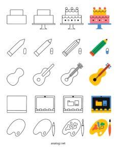 обучение рисовать поэтапно для детей и для начинающих
