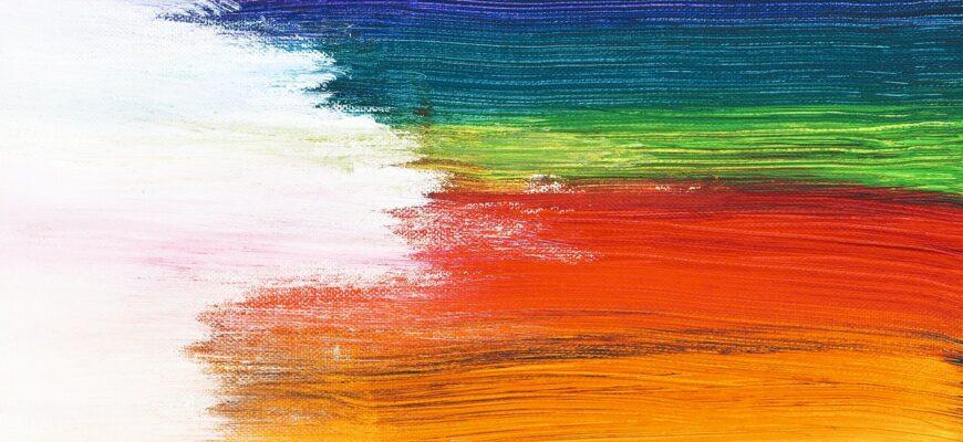 рисование красками для детей 3-4 лет