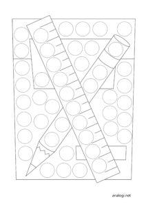 Шаблоны для рисования пальчиками