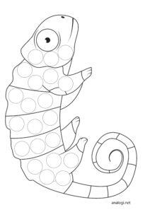 Шаблоны для рисования для детей 1-3 лет