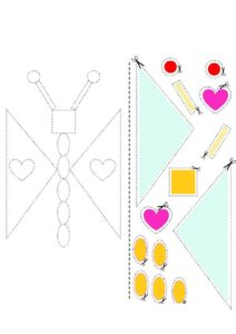 Как научить ребенка пользоваться ножницами - шаблоны для тренировки