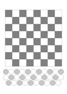 распечатать шашки