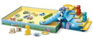 Настольная игра для малышей развивающая Синий слоник