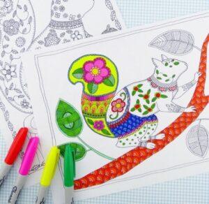 распечатать сложные раскраски для взрослых