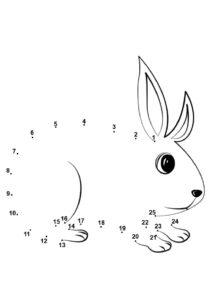 Распечатать задания по точкам и числам до 30