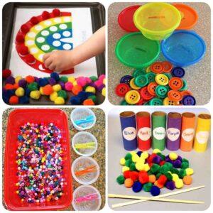 Дидактическая игра Сортировка для детей от 2 лет