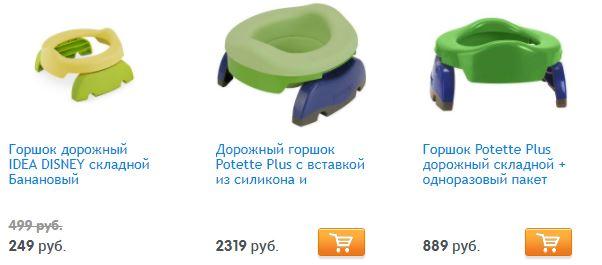 сравнение цен на potette plus и аналог