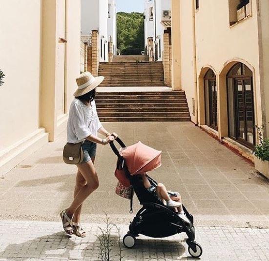 стильная мама лето