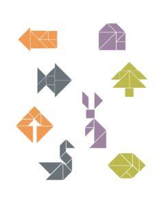 распечатать схемы танграм