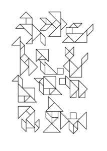 схемы танграм детям