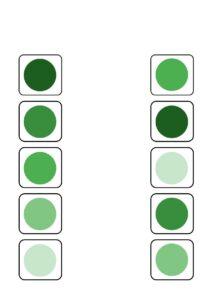 Распечатать карточки Учим цвета и оттенки