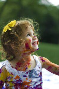 творческое развитие ребенка 3-4 лет, умения детей