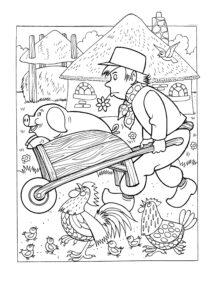 Раскраски Ферма распечатать