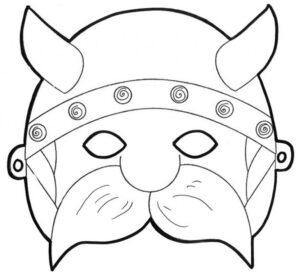 распечатать маски-раскраски