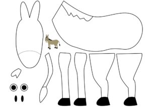 Аппликации из бумаги Домашние животные