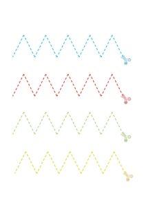 Вырезание для развития графомоторики детей 4 лет