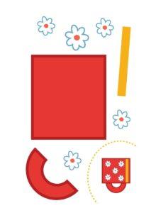 Заготовки для аппликаций - распечатать шаблоны