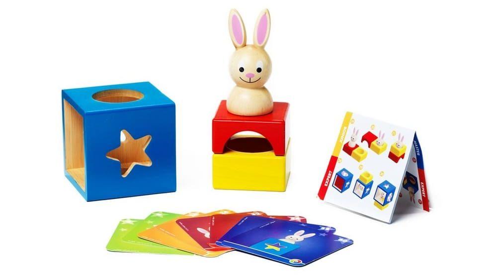 Настольная игра для малышей Застенчивый кролик