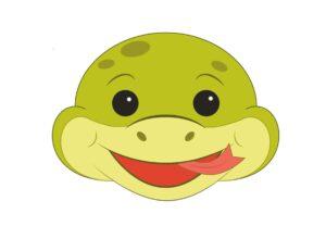 Змея - маска для детей